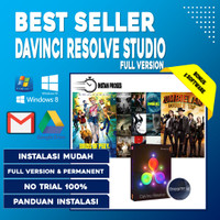 Davinci Resolve Studio 17 Full Version Software Video Editing Motion