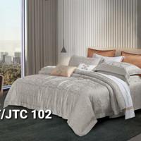 Bed cover set sprei 200x200 kingkoil sutra tancel organik db00023 - 200x200x30