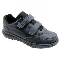 DUKE SCHOOL CH ALL BLACK - Sepatu BTS Anak
