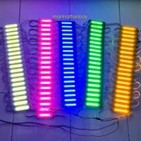 Lampu Strib LED COB 6 Mata Variasi Mobil Dan Motor DC 12 Volt