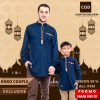 Baju Koko Kurta Pakistan Lengan Panjang Kokoh Muslim Koko Couple S 10 - Mustard, XL KIDS