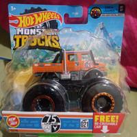 Hotwheels Hot Wheels Monster Trucks Truck Mercedes Benz Unimog