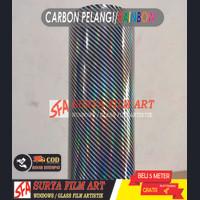Karbon Pelangi/Stiker Karbon Kevlar Pelangi/Karbon