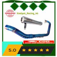 Knalpot Racing Arrow Gsx 150r R15 V3 V2 CBR 150r Vixion Leher Bluemoon