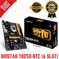 BIOSTAR TB250-BTC Intel B250 LGA1151 DDR4 ATX Mining Motherboard