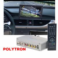 TV TUNER MOBIL SIARAN DIGITAL WITH SMART ANTENA   DVB T2 POLYTRON