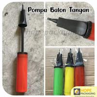 Pompa Balon Tangan Manual Warna Warni/Pompa Tangan