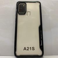 SAMSUNG A21S IPAKY CASE Black Soft Silicone Bumper