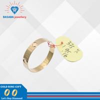 cincin cartier emas asli
