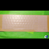 Asus ROG GL503 FX503 FX63 Clear Transparant Keyboard Protector Cover - Putih