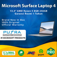 Microsoft Surface Laptop 4 13.5 256GB 8GB AMD Ryzen 5 4680U SSD 256 - Platinum
