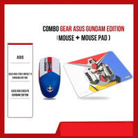 Asus ROG Strix Impact II Gaming Mouse + Sheath Mousepad Gundam Edition