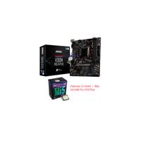 PAKETAN CORE i5 9400f + MSI H310M PRO-VH PLUS