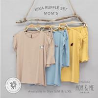 Piyama Wanita Mooi Kika Ruffle Set (MOM)