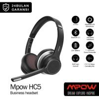 Bluetooth Business Headphone / Headset MPOW HC5 Dual Mic / Microphone