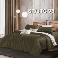 Bed cover set sprei 200x200 kingkoil sutra tancel organik db00015 - 200x200x30