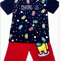 Boy Size 10T Baju Setelan Piyama Pendek Anak Karakter Oshkosh