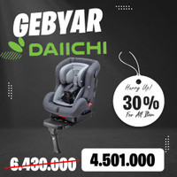 Promo Daiichi Carseat First Seven Plus Touch Fix - Rosewood