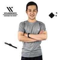 Baju Olahraga Dry Fit Cowok Pria Lari Gym Running Sepeda Wyloz Sport