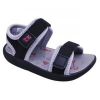 Caicos Fs Black Grey - Sandal Anak laki-laki