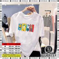 Baju / Kaos Digital Printing / Jujutsu Kaisen-Putih