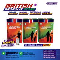 British Propolis Original Dewasa x1 British Propolis Green Anak x2