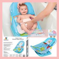 Mastela Deluxe Baby Bather Kursi Duduk Mandi Bayi 3 Posisi Free Kado