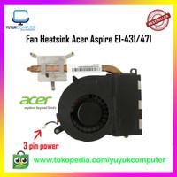 Fan Heatsink Laptop Acer Aspire E1- 421 E1-431 E1-471 V3-471 V3-471