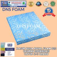 KASUR BUSA ROYAL FOAM UK 200X160X15 D23 (NO. 2) FREE COVER + VACUM