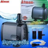 ATMAN AT-104 Pompa Air Aquarium Submersible Water Pump