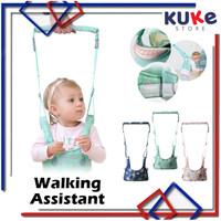 Baby Moonwalk / Walking Assistant Belt / Alat Bantu Belajar Jalan Bayi - Merah Muda