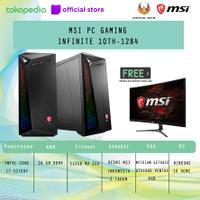 MSI PC GAMING INFINITE 10TH-1284 i7-10700F 16GB 512GB GTX1660 W10