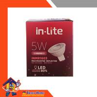 Lampu Cup Sorot IN LITE Spot LED 5Watt Putih INMR1603 8997213200278