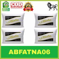 Bantal ALESHA Premium Full silikon Paket 4 Bantal