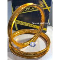 Velg Takegawa W Shape 140X160 Ring 14 Gold Series