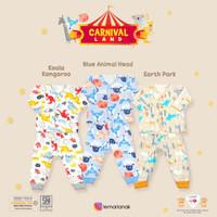 LIBBY Setelan MIXED Baju Bayi Lengan Panjang & Celana Panjang NEWBORN