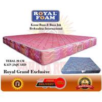 Kasur Busa Royal Foam GRAND EXCLUSIVE 160X200 MURAH - Merah