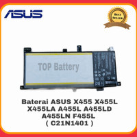 Baterai Ori ASUS X455 X455L X455LA A455L A455LD A455LN F455L C21N1401
