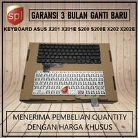 Keyboard Asus VIVOBOOK X201 X201E X202E S200 S200E-Hitam