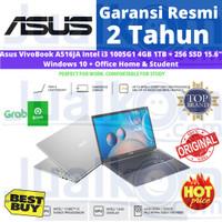 Asus VivoBook A516JA Intel i3 1005G1 4GB 1TB + 256 SSD 15.6 W10+OHS