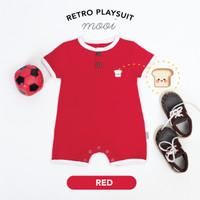 Retro Playsuit Jumper Bayi Mooi