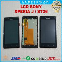 Lcd Touchscreen Sony Xperia J St26 St26i Full Frame