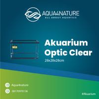 akuarium optic clear Nisso Bahari 28x28x28cm