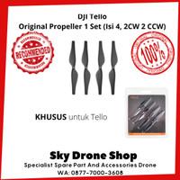 Baling-Baling Propeller DJI Tello Original 1 Set (Isi 4 2CW 2CCW)