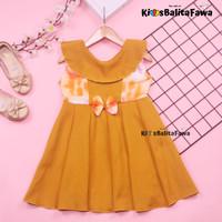 Dress Cantika uk 4-5 Tahun / Dres Yukensi Baju Anak Perempuan Harian