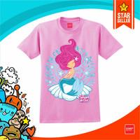 baju anak putri duyung - flamingo, XXXL