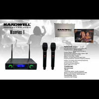 Mic Wireless Hardwell Mseries-1 Ori Free Hardcase -- 2buah Mic Pegang