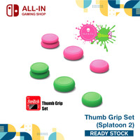 Nintendo Switch Joycon Thumb Grip Set Skull & Co - Hijau
