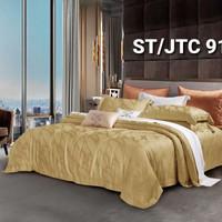 Bed cover set sprei 200x200 kingkoil sutra tancel organik db00022 - 200x200x30