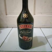 Botol Bekas Baileys Salted Caramel ( SIZE SATU LITER )